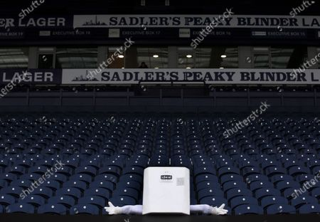 Boiler man in the stand ahead of the game