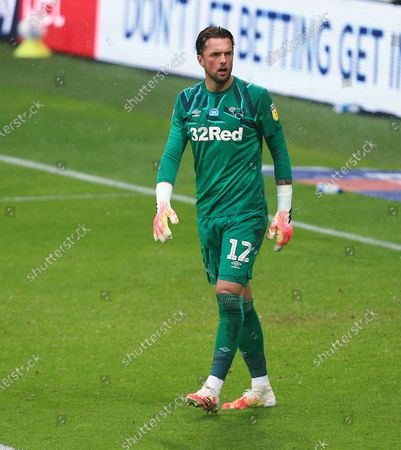Derby County goakeeper Ben Hamer