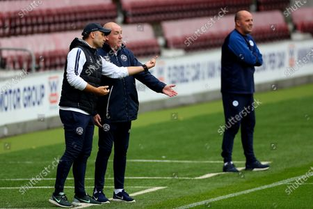 Image libre de droits de QPR manager Mark Warburton