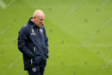QPR manager Mark Warburton shows a look of dejection