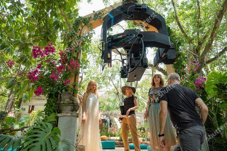 Heather Graham as Angel de la Paz, Anna Camp as Brooke and Sarah Burns as Kaylie