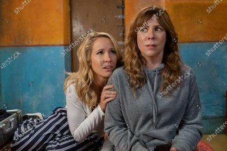 Stock Image of Anna Camp as Brooke and Sarah Burns as Kaylie