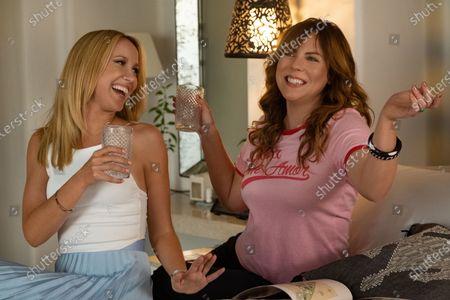 Anna Camp as Brooke and Sarah Burns as Kaylie