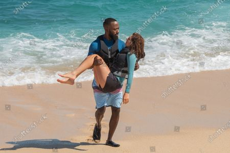 Lamorne Morris as Sean and Nasim Pedrad as Wesley