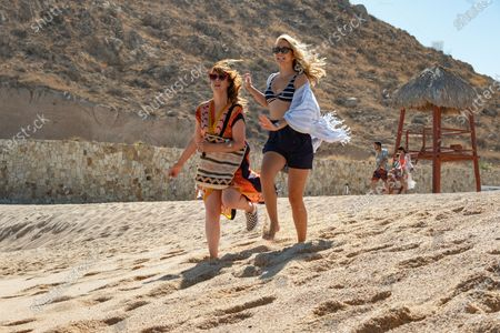 Stock Picture of Sarah Burns as Kaylie and Anna Camp as Brooke