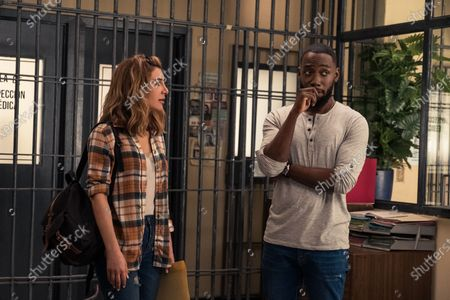Nasim Pedrad as Wesley and Lamorne Morris as Sean