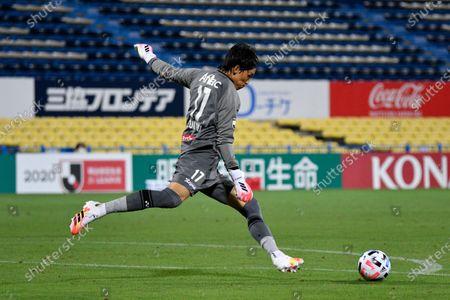 Kim Seung Gyu (Reysol) - Football /Soccer : 2020 J.LEAGUE Division 1 match between Kashiwa Reysol 1-3 Yokohama F.C. at Sankyo Frontier Kashiwa Stadium, Chiba, Japan.