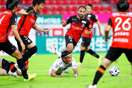 Takashi Usami (Gamba) - Football / Soccer :  2020 J1 League match between Nagoya Grampus 2-2 Gamba Osaka at Toyota Stadium in Toyota, Aichi, Japan.