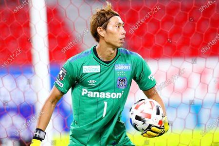 Masaaki Higashiguchi (Gamba) - Football / Soccer :  2020 J1 League match between Nagoya Grampus 2-2 Gamba Osaka at Toyota Stadium in Toyota, Aichi, Japan.