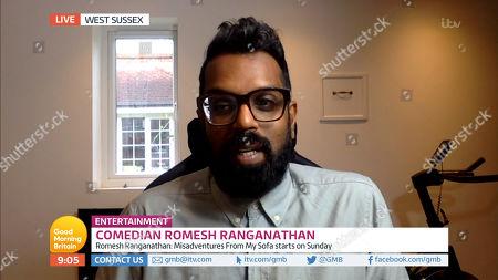 Editorial image of 'Good Morning Britain' TV Show, London, UK - 09 Jul 2020
