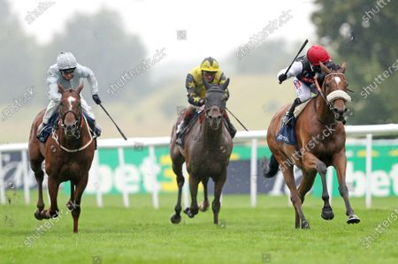 Editorial image of Horse Racing from Newmarket Racecourse, UK - 09 Jul  2020
