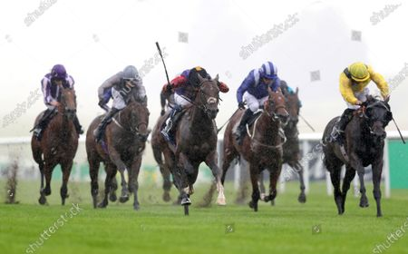 Editorial photo of Horse Racing from Newmarket Racecourse, UK - 09 Jul  2020