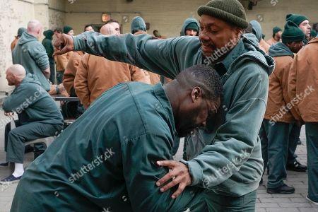 50 Cent as Cassius Dawkins and Dorian Missick as Jamal Bishop