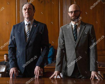 Boris McGiver as Glen Maskins and Erik Jensen as Dez O'Reilly