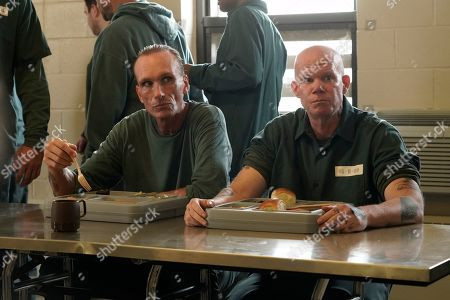 Peter Greene as Wild Bill Miller and Brendan Burke as Gavin