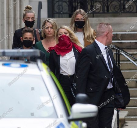 Johnny Depp v The Sun libel trial, The Royal Courts of Justice, London