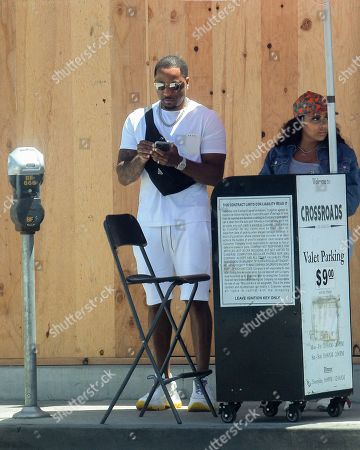 Editorial picture of Adrian Broner out and about, Los Angeles, California, USA - 08 Jul 2020