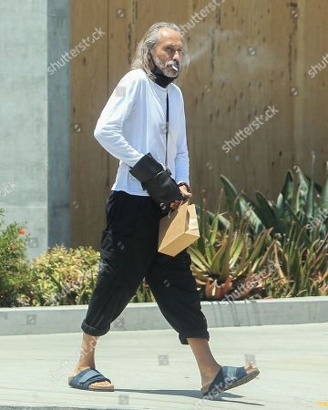 Editorial photo of Michael Wincott out and about, Los Angeles, California, USA - 08 Jul 2020