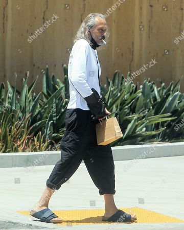 Editorial image of Michael Wincott out and about, Los Angeles, California, USA - 08 Jul 2020