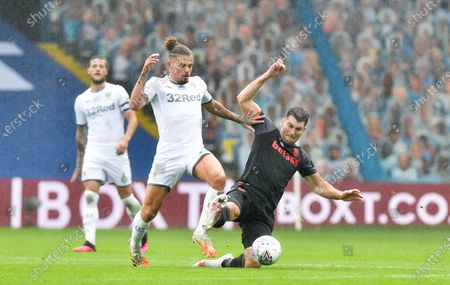 Image éditoriale de Leeds United v Stoke City, Sky Bet Championship, Football, Elland Road, Leeds, UK - 09 Jul 2020