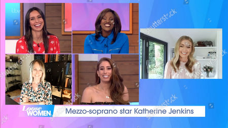 Christine Lampard, Kelle Bryan, Carol McGiffin, Stacey Solomon, Katherine Jenkins
