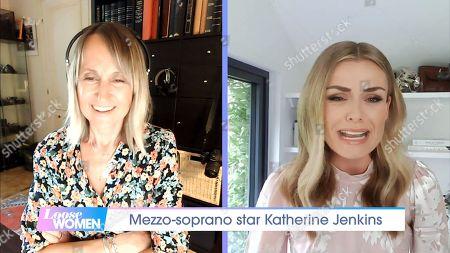 Carol McGiffin, Katherine Jenkins