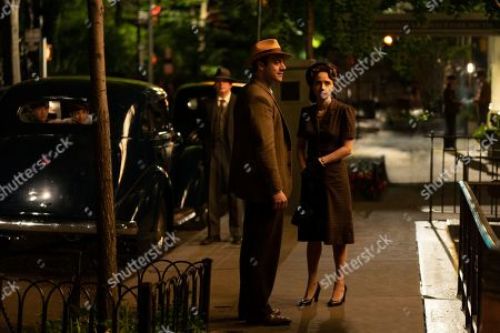 Stock Picture of Morgan Spector as Herman Levin and Zoe Kazan as Elizabeth 'Bess' Levin