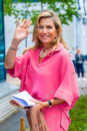 Queen Maxima at Appeltjes van Oranje prize, Hilversum