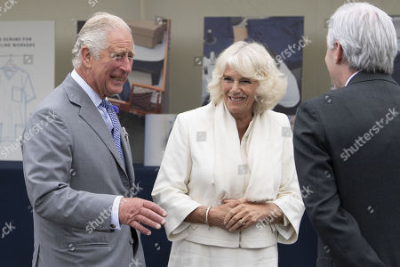 Prince Charles and Camilla Duchess of Cornwall visit to Gloucester