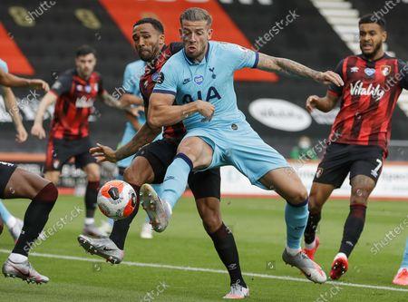Image éditoriale de AFC Bournemouth vs Tottenham Hotspur, United Kingdom - 09 Jul 2020