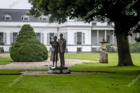 """Stock Image of Princess Irene and Princess Margriet do not agree with the plans to cut down the Borrebos near Soestdijk Palace and to build houses on the former grounds of the Royal Netherlands Marechaussee. In a letter to the city council of Baarn, they state that they are """"shocked"""" about the new plans. In several sessions, the city council examines the preliminary draft zoning plan for the former living and working palace of Queen Juliana and Prince Bernhard."""