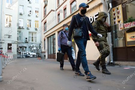 Editorial image of Russia Opposition, Moscow, Russian Federation - 09 Jul 2020