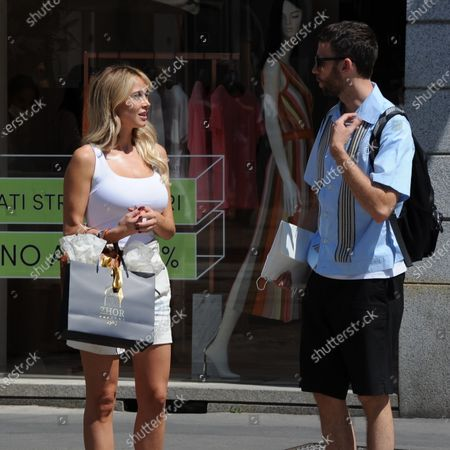 Photo éditoriale de Diletta Leotta out and about, Milan, Italy - 09 Jul 2020
