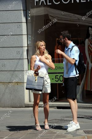 Image éditoriale de Diletta Leotta out and about, Milan, Italy - 09 Jul 2020
