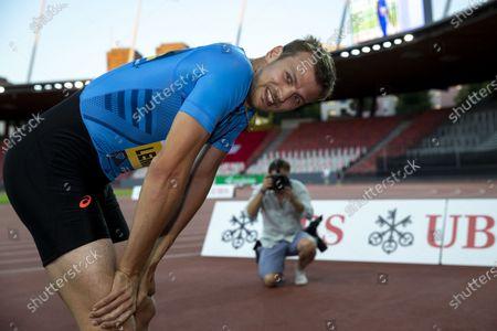 Editorial photo of Inspiration Games virtual athletics meeting, Zuerich, Switzerland - 09 Jul 2020