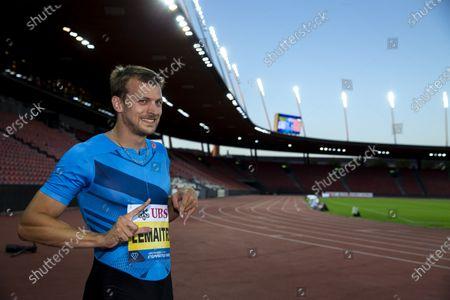 Editorial image of Inspiration Games virtual athletics meeting, Zuerich, Switzerland - 09 Jul 2020
