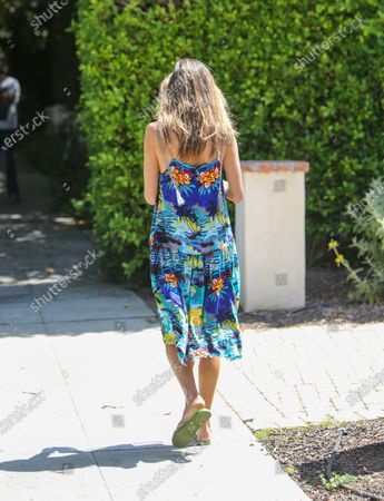 Image éditoriale de Alessandra Ambrosio out and about, Los Angeles, California, USA - 09 Jul 2020
