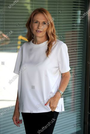 Editorial image of Monica Maggioni out and about, Rome, Italy - 09 Jul 2020