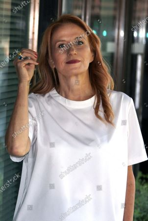 Editorial photo of Monica Maggioni out and about, Rome, Italy - 09 Jul 2020