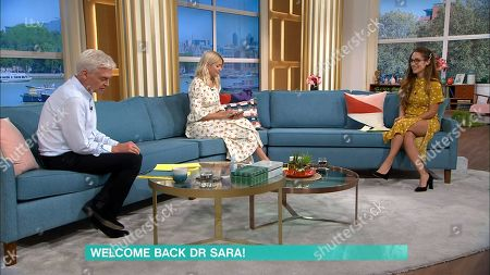 Phillip Schofield, Holly Willoughby and Dr. Sara Kayat