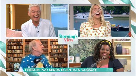 Phillip Schofield, Holly Willoughby, Gyles Brandreth and Alison Hammond