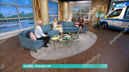 Phillip Schofield, Holly Willoughby and Camilla Tominey