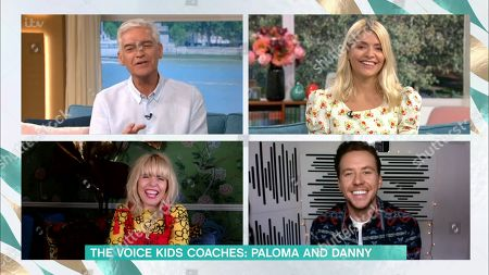 Phillip Schofield, Holly Willoughby, Paloma Faith and Danny Jones
