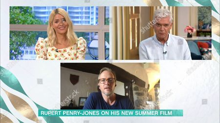Holly Willoughby, Phillip Schofield and Rupert Penry Jones