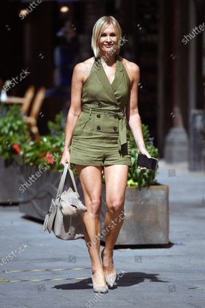 Photo éditoriale de Jenni Falconer out and about, London, UK - 10 July 2020