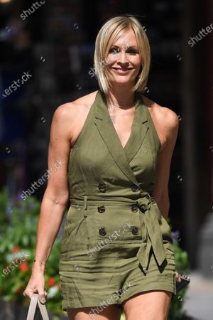 Jenni Falconer out and about, London