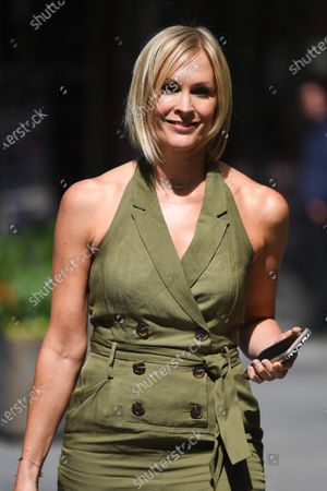 Image éditoriale de Jenni Falconer out and about, London, UK - 10 July 2020