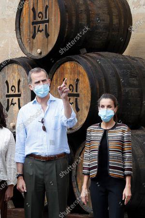 Spanish Royals visit to La Rioja