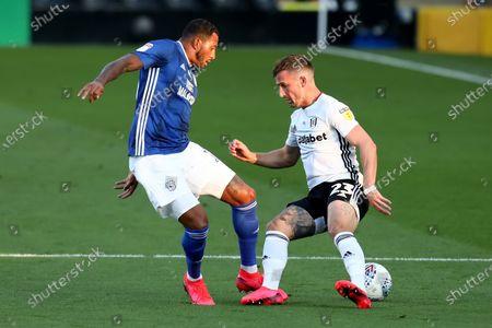 Craven Cottage, London, England; Nathaniel Mendez; English Championship Football, Fulham versus Cardiff City.
