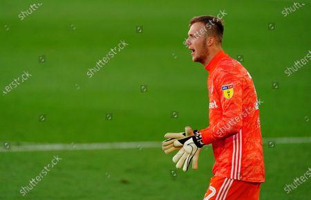 Goalkeeper Marek Rodak of Fulham
